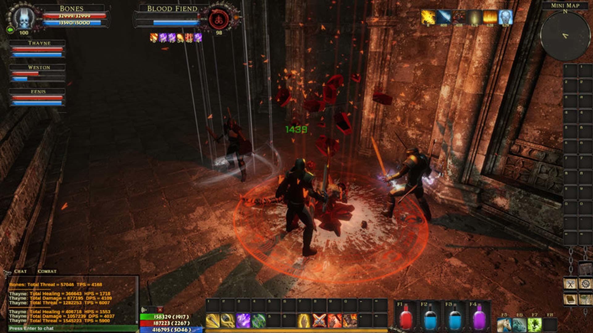 MMORPG Reign of Darkness на 3 дня временно бесплатна