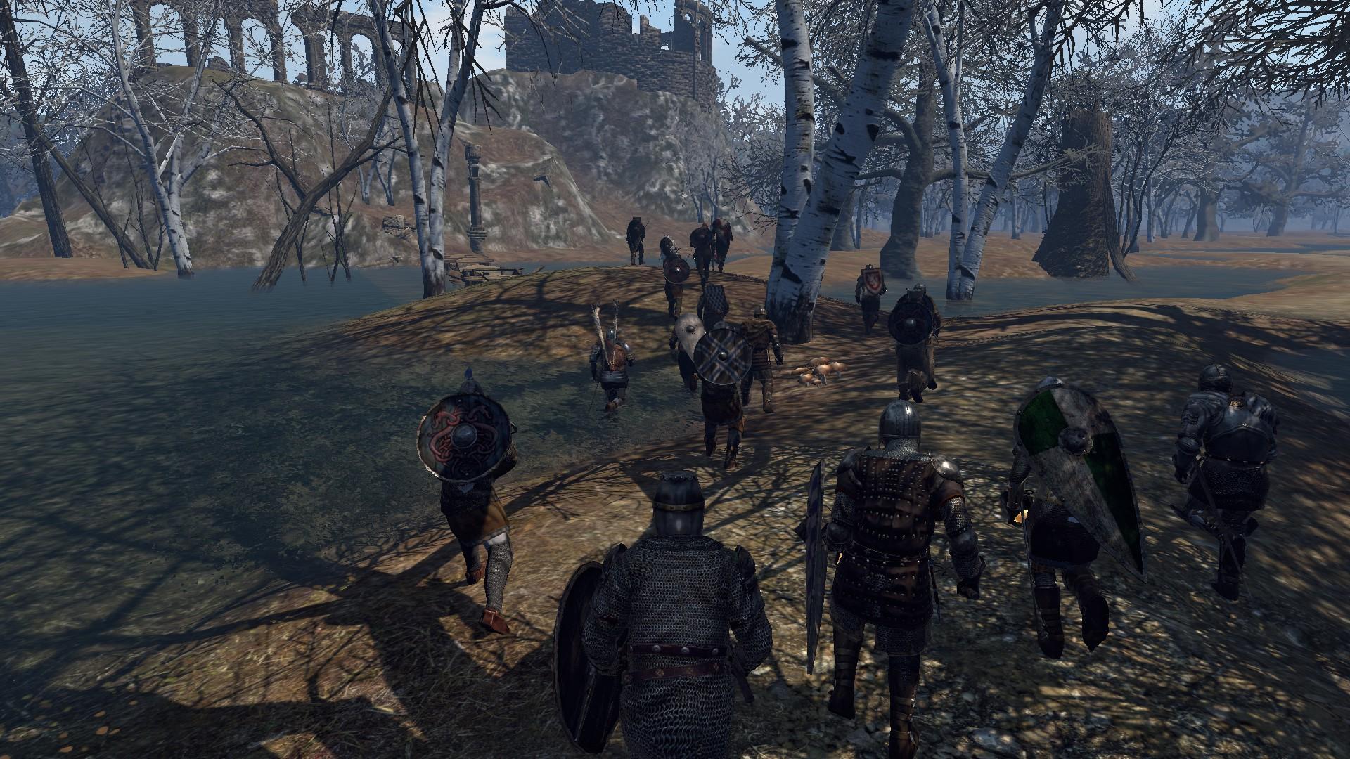 В MMORPG Gloria Victis стартовал бета-тест