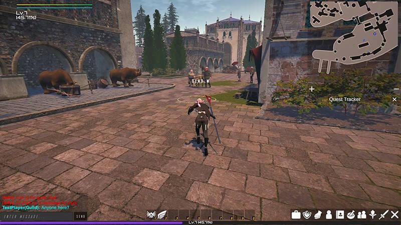 Legends of Gondwana новая MMORPG в Steam