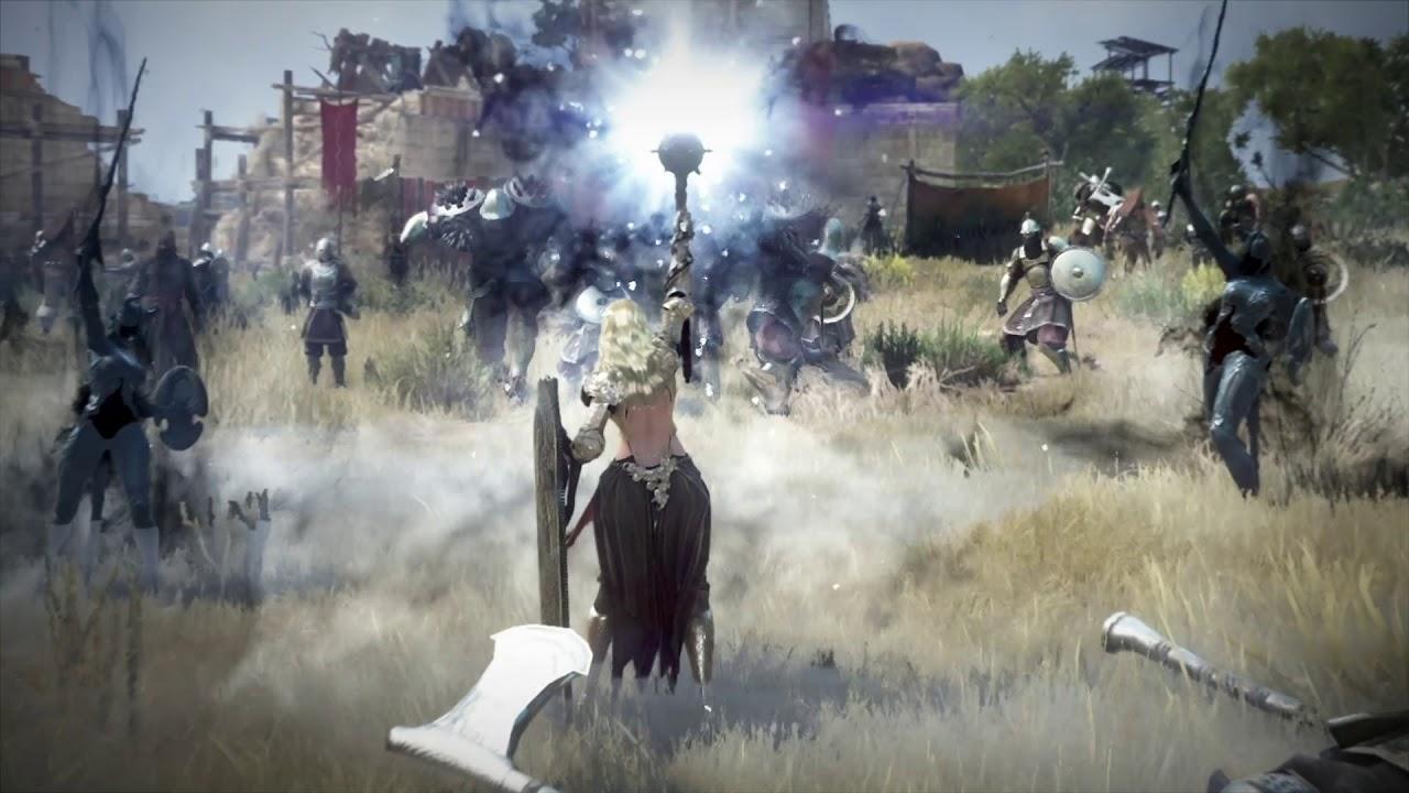 В MMORPG Black Desert появится новый класс персонажа Нова