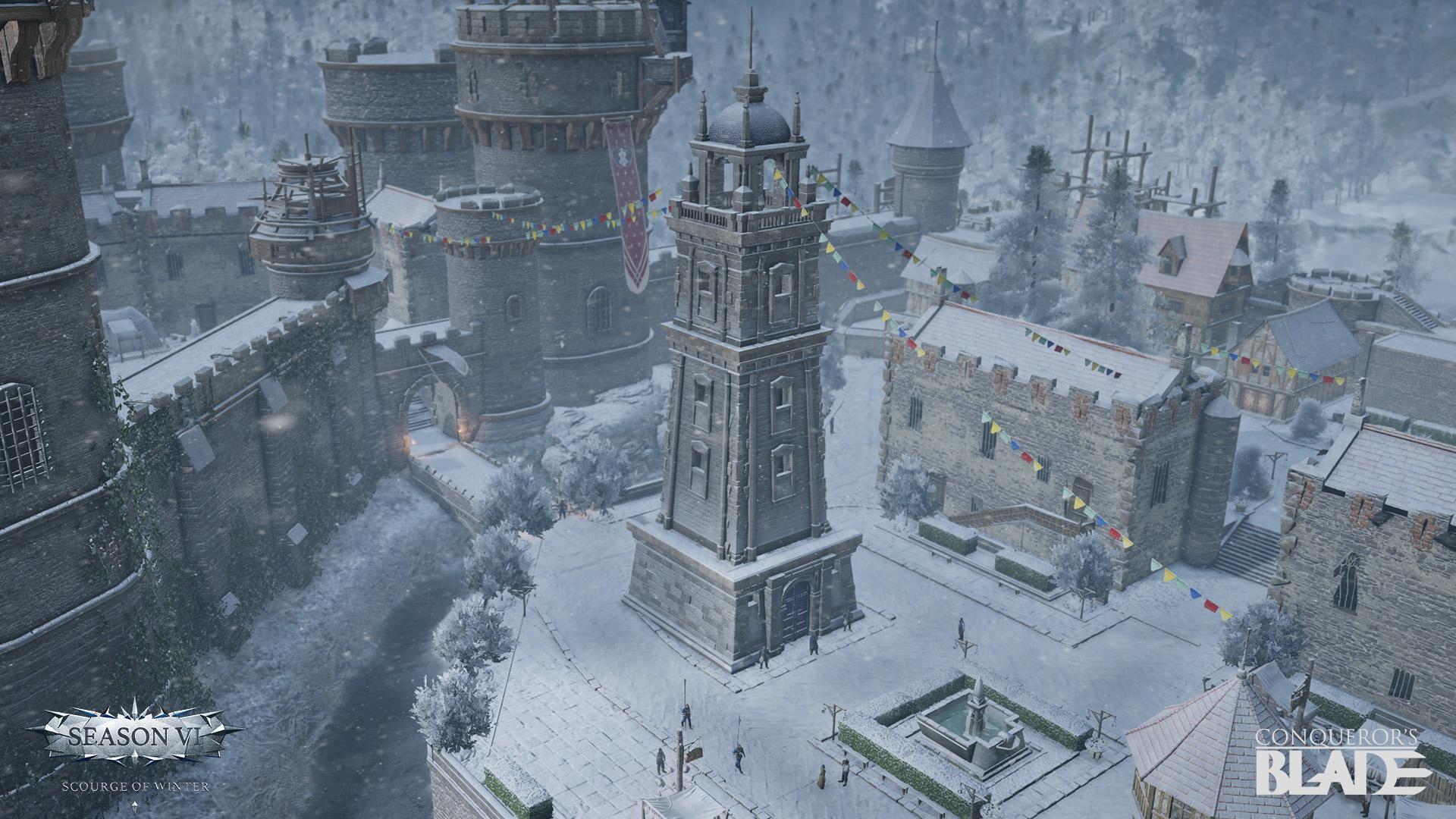 В Conqueror's Blade начинается шестой сезон с дополнением «Scourge of Winter»