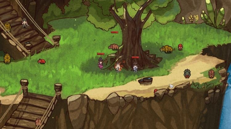 Wing of Misadventure онлайн-игра в стиле Don't Starve