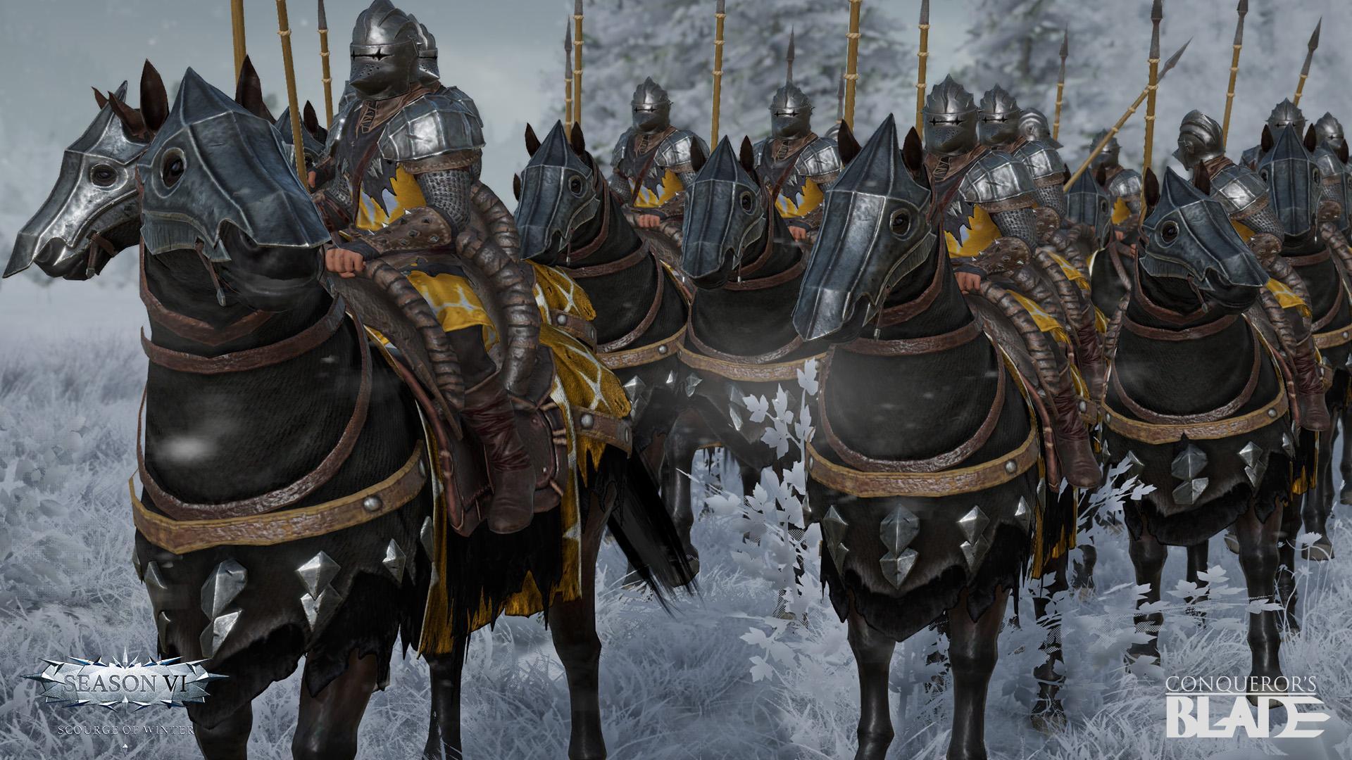 Вышло дополнение «Scourge of Winter» для Conqueror's Blade