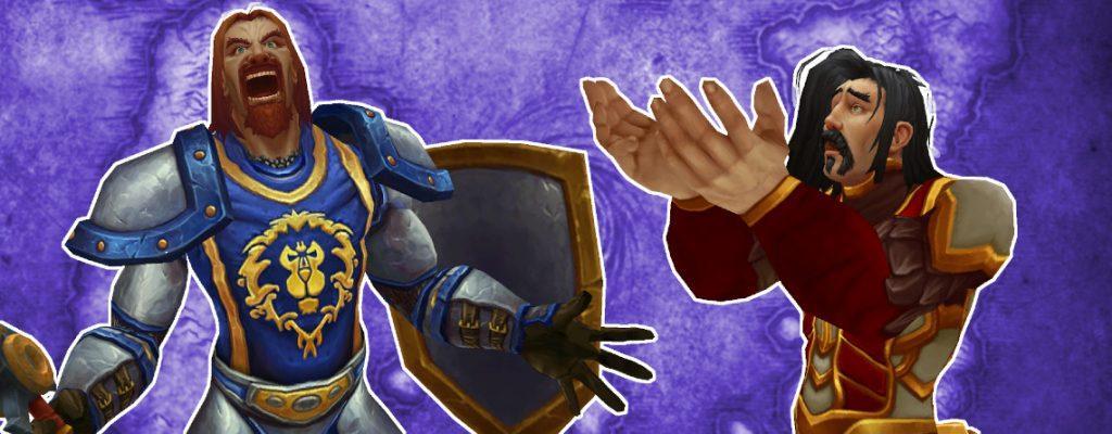 В World of Warcraft: Shadowlands персонажей ближнего боя никуда не берут