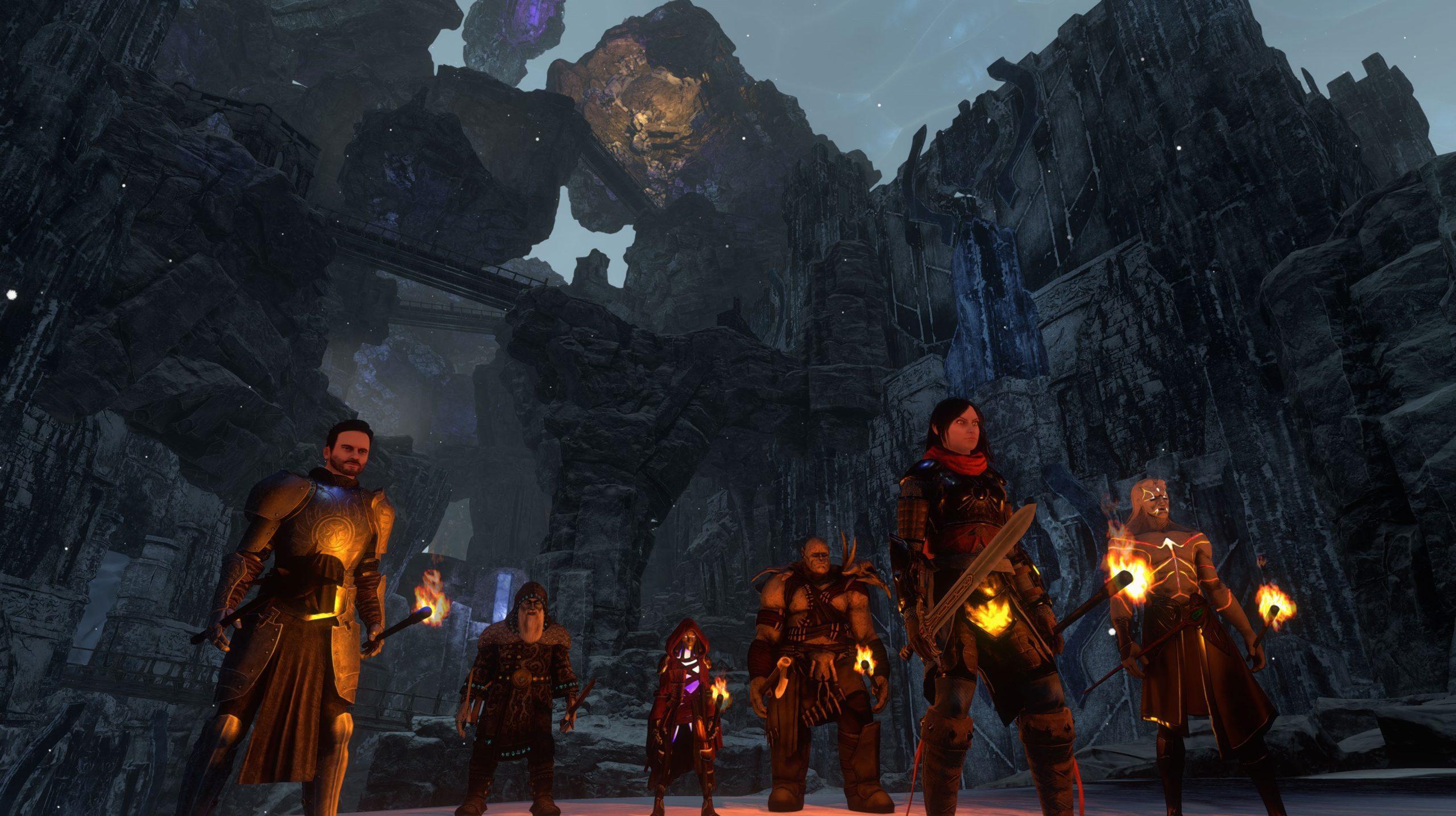 2 часа игрового процесса Pantheon: Rise of the Fallen