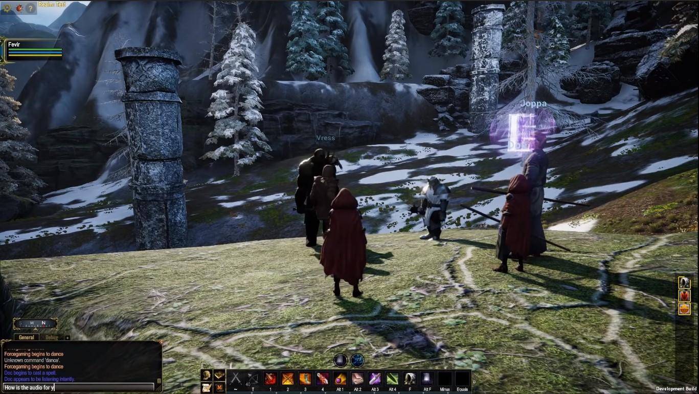 Демонстрация геймплея Pantheon: Rise of the Fallen