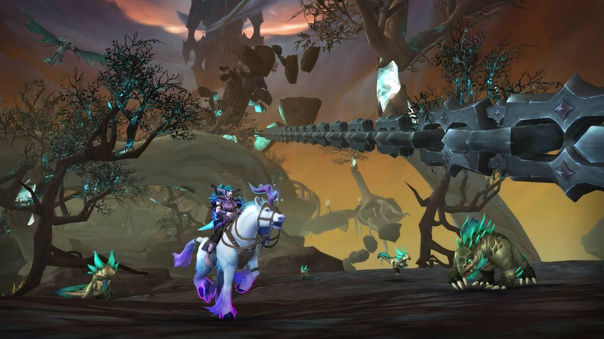 Слито новое обновление для World of Warcraft: Shadowlands