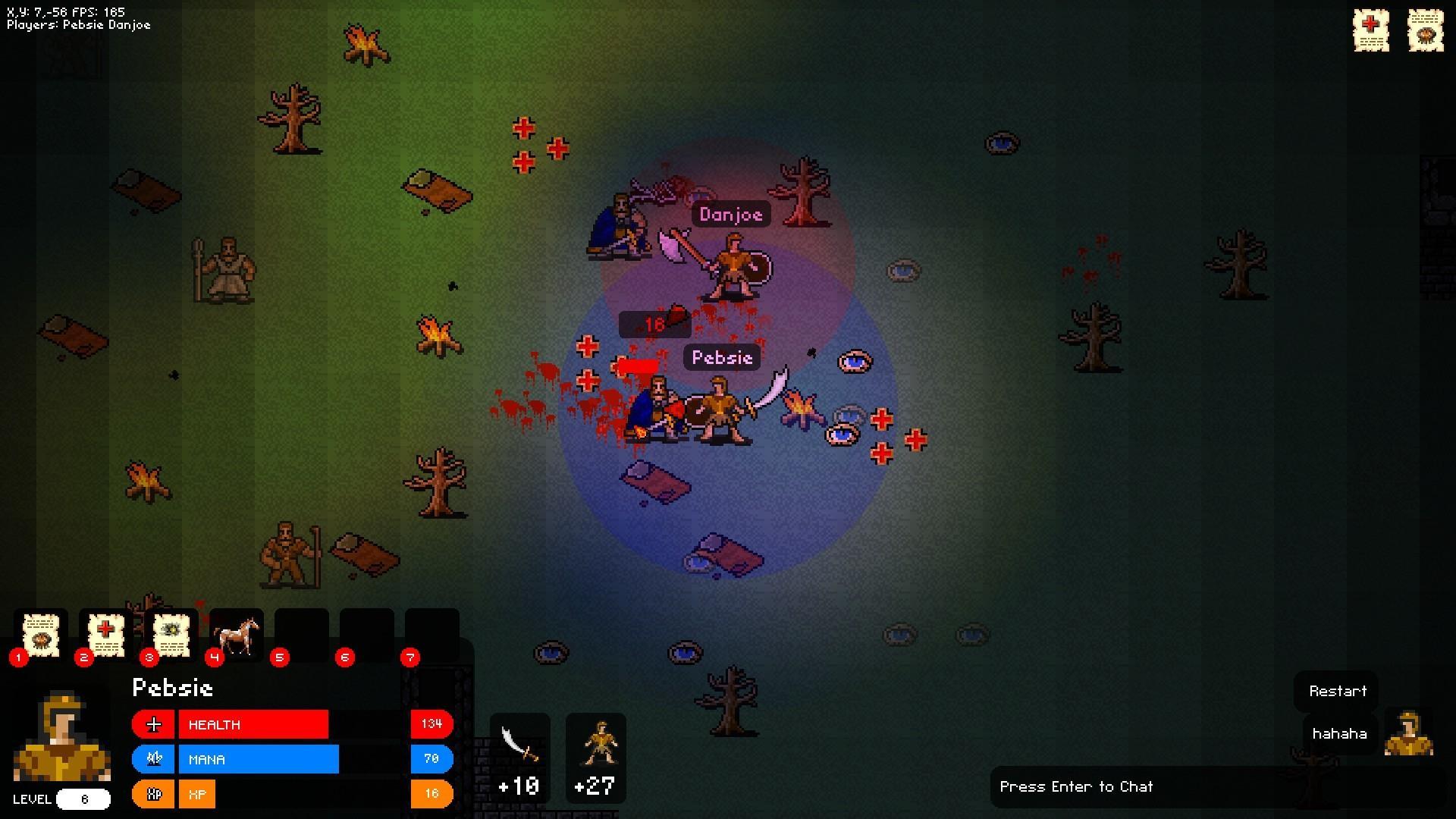 MMORPG в стиле 2D BrawlQuest