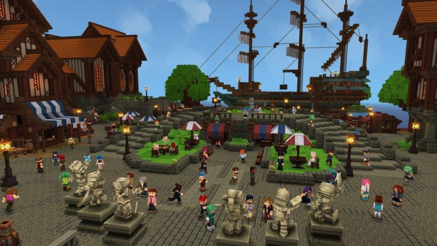 MMORPG Hytale напоминающая Minecraft
