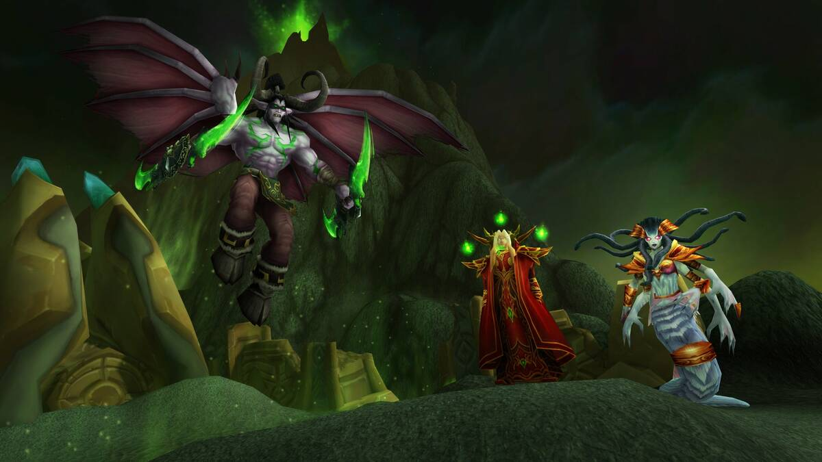 World of Warcraft: Classic получит дополнение The Burning Crusade
