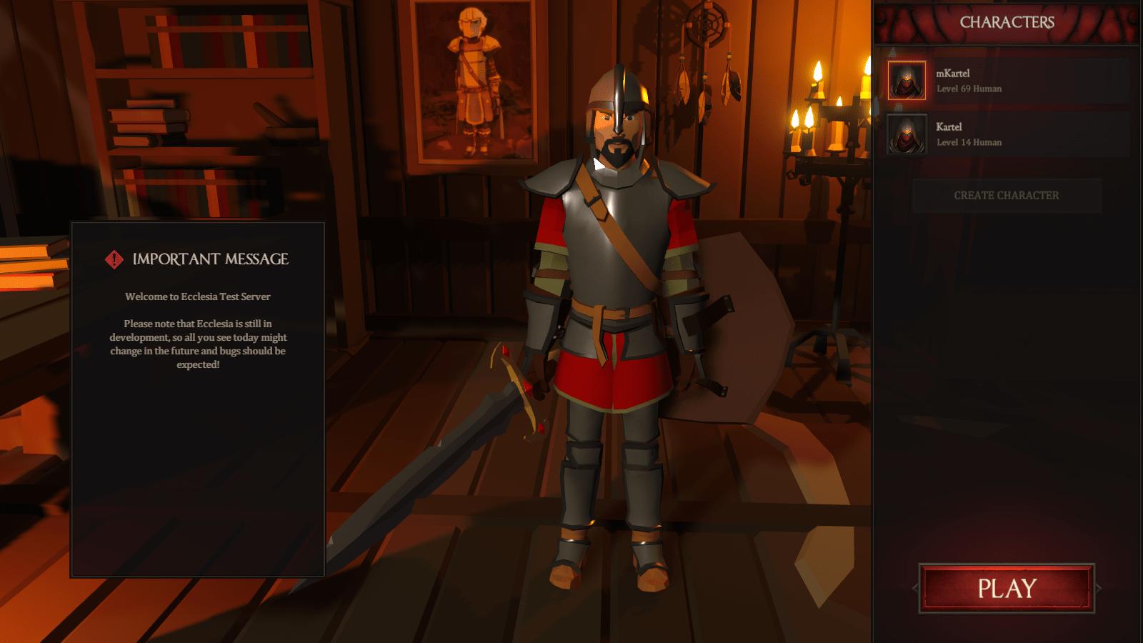 Открытое альфа-тестирование в MMORPG Ecclesia Online