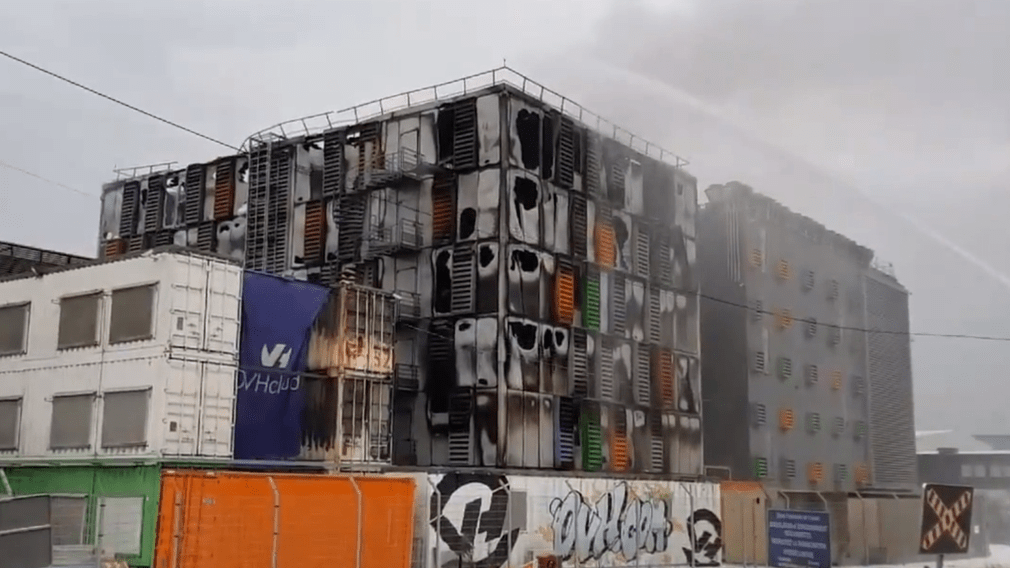 Данные Gloria Victis уничтожены пожаром