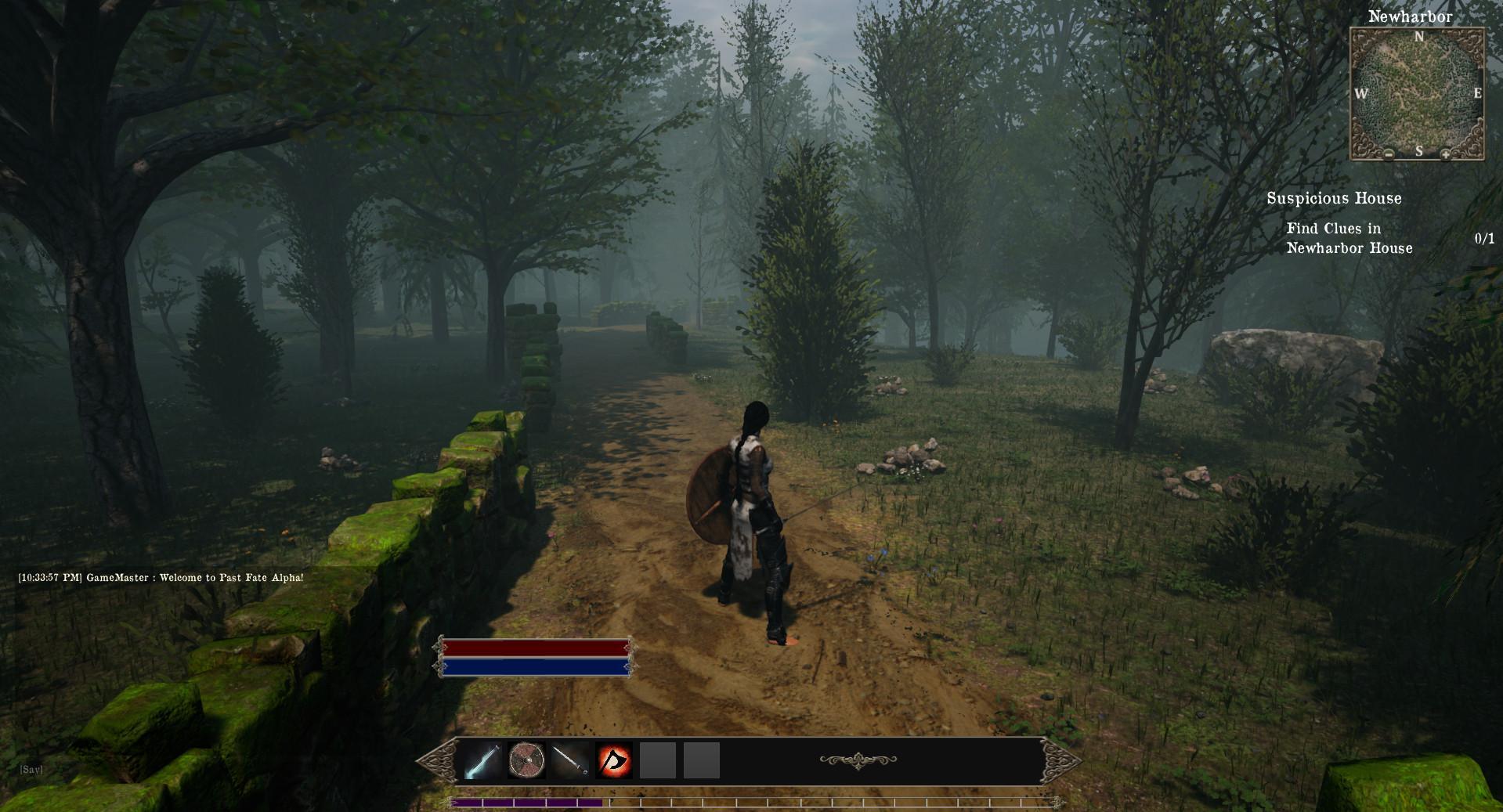 MMORPG в стиле тёмного фэнтези Past Fate