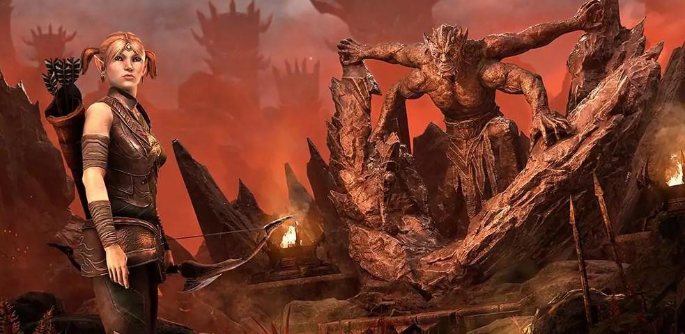 The Elder Scrolls Online бесплатна на 2 недели