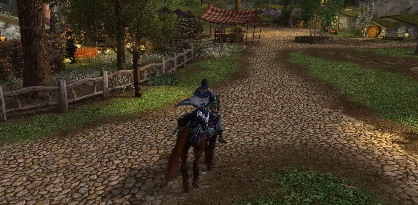 Lord of the Rings Online может не получит улучшенную графику