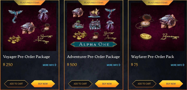 За доступ к первой альфе Ashes of Creation нужно отдать 500$