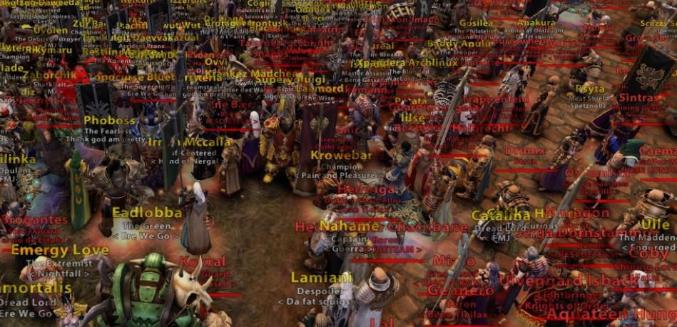 Игроки Warhammer Online: Age of Reckoning устроили прощальный марш