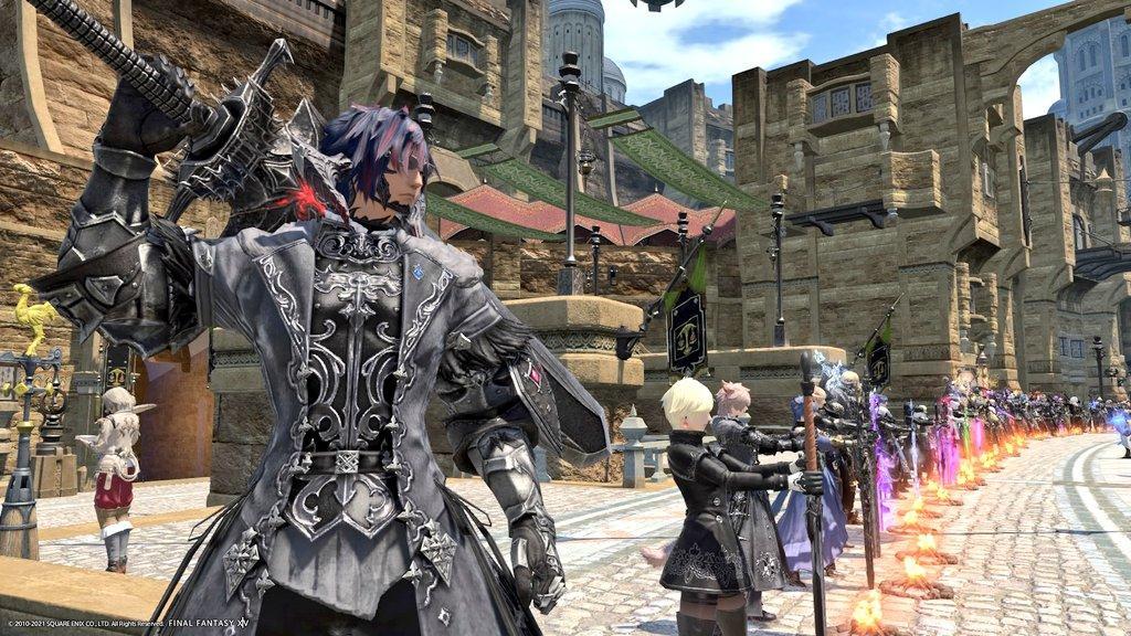 Игроки Final Fantasy XIV и Black Desert решили отдать дань уважения автору манги Берсерк