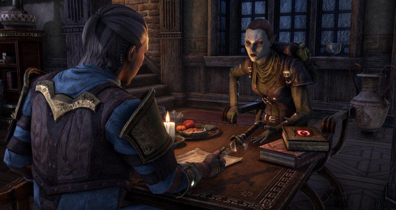 Спутники появятся в The Elder Scrolls Online со следующим DLC