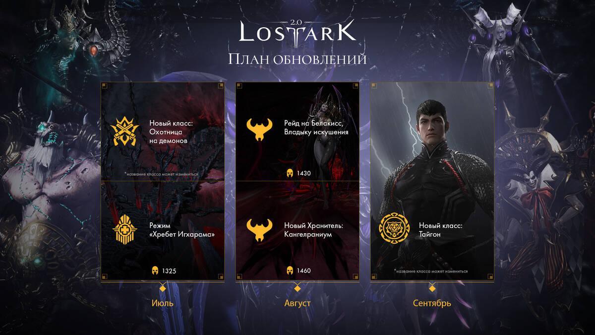 В сентябре для LOST ARK выйдет новый класс Аватар