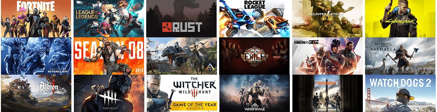 GeForce Now игры список