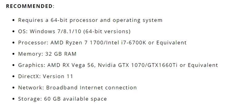 Для запуска Mortal Online 2 потребуется 32 GB ОЗУ