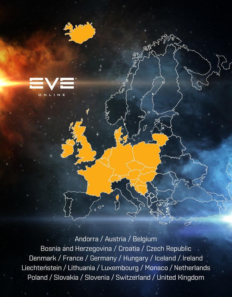 Браузерная версия EVE Online выбралась за пределы США