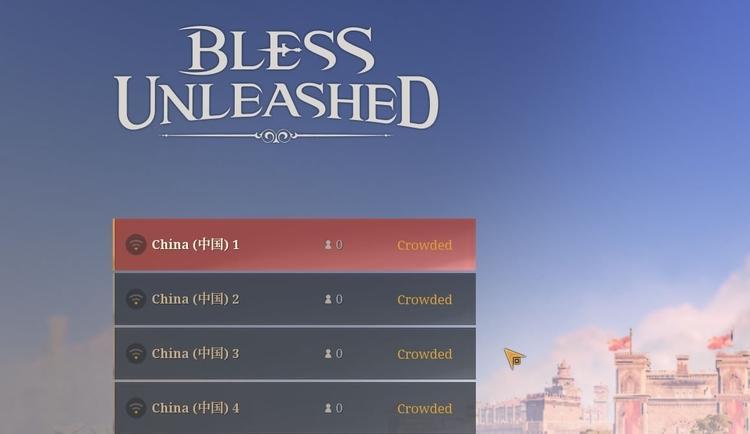Bless Unleashed имеет высокий онлайн благодаря китайцам