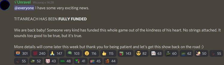 TitanReach получила финансирование и не закроется