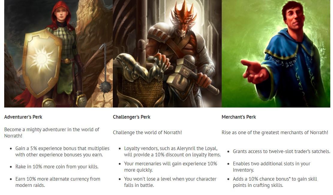 В EverQuest теперь можно купить за реальные деньги перки
